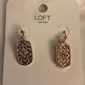 NWT 💫 Ann Taylor Loft Filagree Earrings